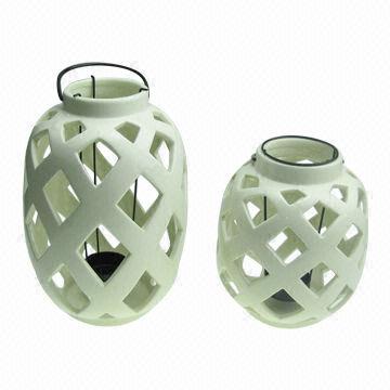 Greatest China Ceramic Lantern, Home Decoration, Houseware, OEM and ODM  CI97