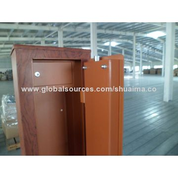 ... Higher China Green Gun Safe, The Trick Is Steel, Looks Like A Furniture,  Higher