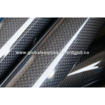 China Cfrp Carbon Fiber Products Composite Pultrusion Roll Wring Molding