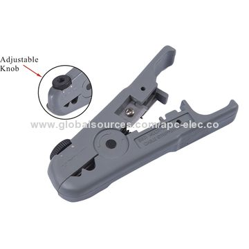 China Stripper and cuts tool for UTP/STP round cable or flat ...