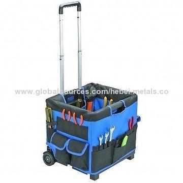 ... China 450mm Heavy Duty Tool Storage Bag Organizer On Wheels ...