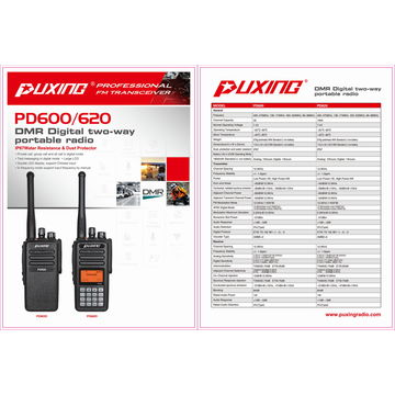 China DMR Radio, 1000 Channels, TDMA and Manual Digital Frequency