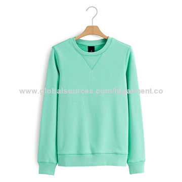China OEM Women's Crew-neck Sweatshirts, Custom Logo Fashion ...