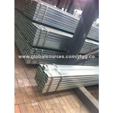 China Hot dip galvanized hollow section steel tubing. China Hot dip galvanized hollow section steel tubing on Global Sources