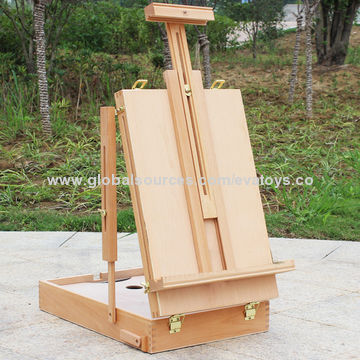 ... China Professional Wooden Painting Table Top Easel Stand For Promotion,  Unit Meas(CM) ...