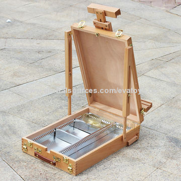 ... China Professional Wooden Painting Table Top Easel Stand For Promotion,  Unit Meas(CM)