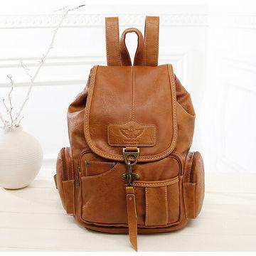 c24d06f378 Hong Kong SAR 2015 fashion high quality PU leather backpack purses ...