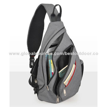 350340e10b ... China Hot Sale Customized One Shoulder Strap Backpack
