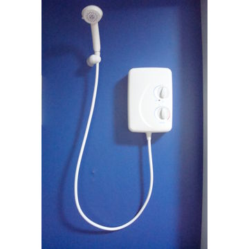 China UK Style Electric Instantaneous Shower Tankless Water Heater ...