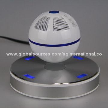 Levitating Bluetooth speaker, floating on the magnetic base, wireless speaker, 5W mono speaker, NFC