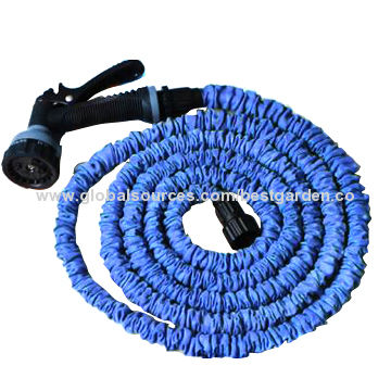 china expandable and flexible water hose stretches to three times lightweight never tangles - Flexible Garden Hose