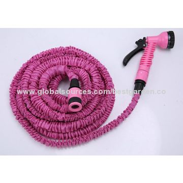 ... China Flexible Water Hose Compact Lightweight Expands 3x Length Different Fabric Colors ...  sc 1 st  Global Sources & China Flexible Water Hose Compact Lightweight Expands 3x Length ...