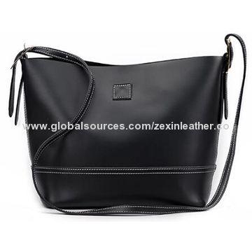 China Lady Handbag European Fashion Printed Las 2pcs Pu Leather Handbags Bag In