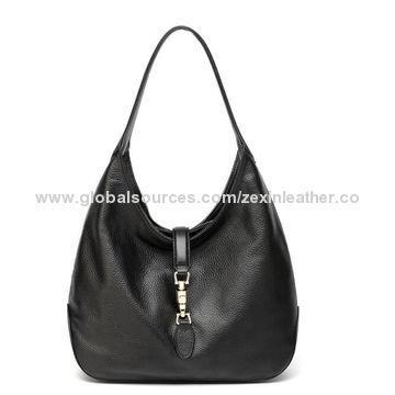 China Hot Sale Fashionable Lady PU Leather Hobo Handbags on Global ... 33e9644c11080