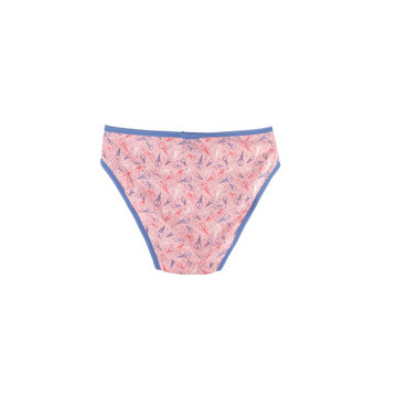 china printing cotton girl s panty private label and logo printed