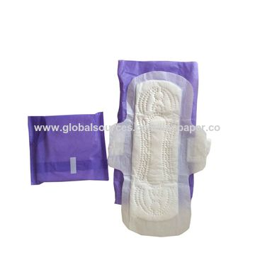 Sanitary napkin pad for lady, 240mm length, ultra thin type