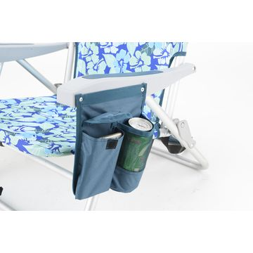 12e07192a5b1 ... China Low profile beach chair with pillow,side table and side bag ...