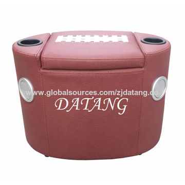 ... China Football Ottoman With Speakers And Cooler Tub Inside