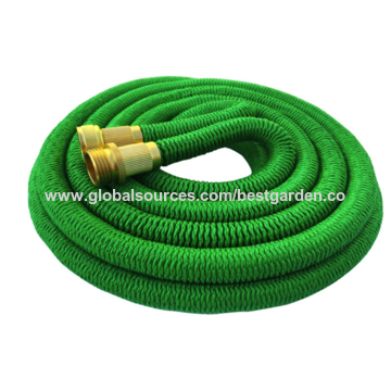2016 new expandable garden hose with heavy duty metal 9 way hose