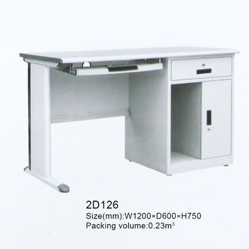 Merveilleux ... China Easy Assembled Stainless Steel Computer Desk ...