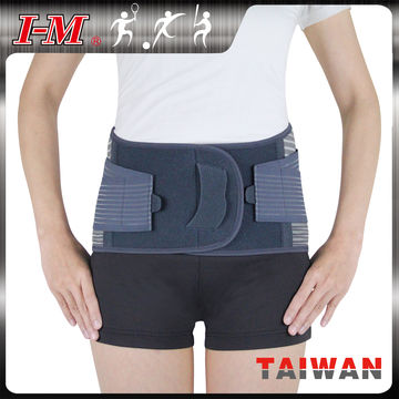 Taiwan Orthopedic Lumbar Back Support Belt on Global Sources