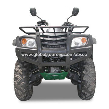 ATV with EFI System and Electric Starter, Manual Start and Water-cooled Engine