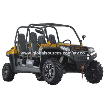 Utility Vehicle, 1,000cc Power Full Engine with Crew Cab, Windscreen, Shed, Hitch Bar and Winch