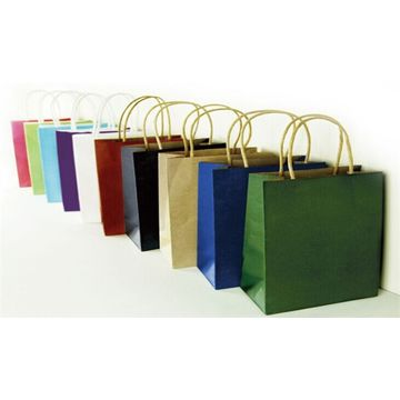 China Promotional Gift Bag Colorful W Ribbon Small Orders Are Welcome