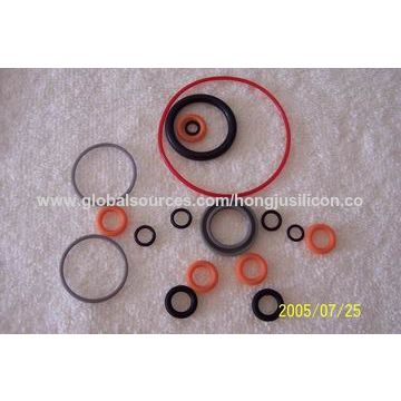 China Silicone rubber washer, customized sizes and colors are ...