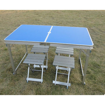 ... China Good Quality Long Outdoor Folding Aluminum Picnic Table ...