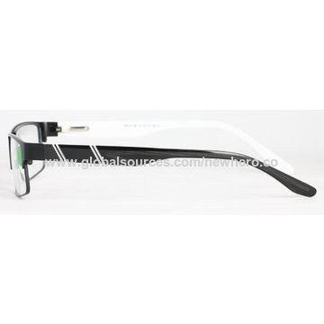 ca42e6ab291 ... China Fashion stainless steel optical frame eyewear eyeglasses  wholesale metal men style with TR temple