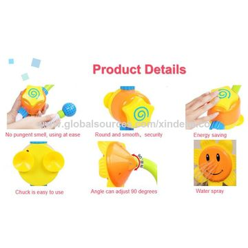 Newborn Baby Toy, Bathing, Folding, Safety Sensor