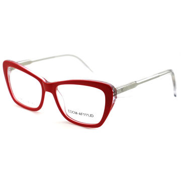 40e082d2c2e ... China Best design women acetate optical frame wholesale eyeglasses China  factory ...