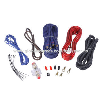 china oga car audio wiring kit ofc wire made of pvc oem orders rh globalsources com car audio wiring diagram car radio wiring diagram