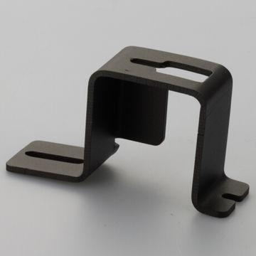 China Powder coating angle bracket custom stamping fixing