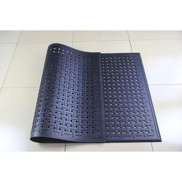 Attirant ... China Black Anti Slip Anti Fatigue Rubber Kitchen Mat With Bone Shape  ...