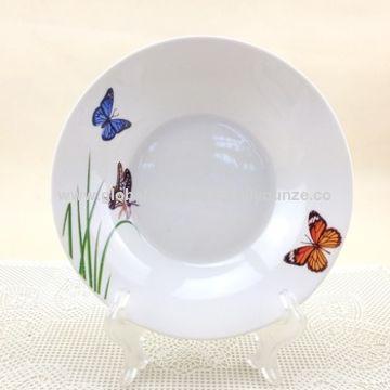 China Wholesale new bone white porcelain 9\