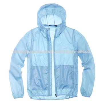 China Lightweight Men's Windbreaker Jacket, Water-repellent, Beach ...