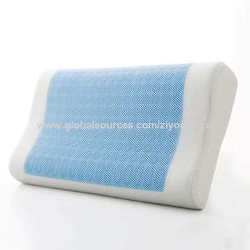 memory foam pillow ergo gel sleeping