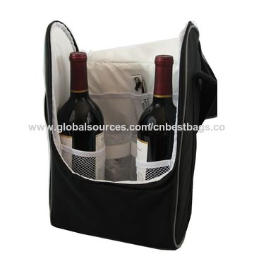 China Wine Travel Carrier And Cooler Bag Chills 2 Bottle Of Or Champagne