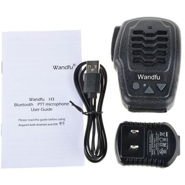 China Bluetooth PTT microphone for Zello walkie talkie app