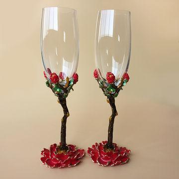 2016 New Design Unique Design Red Wine Glasses High
