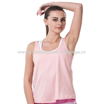 China High Quality Girls Tank Top Loose For Running Jogging And