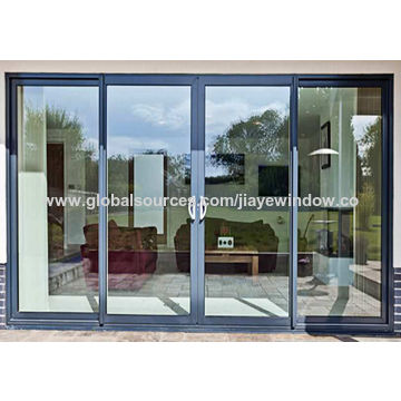 China Aluminum Sliding Glass Door For Residential Room On Global Sources