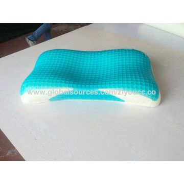 latex neck gel children memory massage for item care foam heath slow pillow recovery particle
