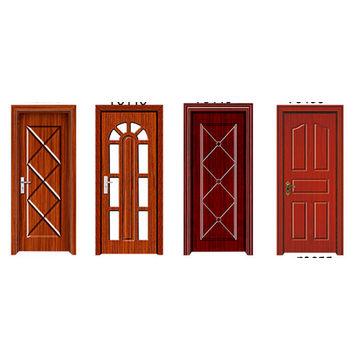 China Folding Pvc Door Partition Pvc Exterior Door Bathroom Pvc