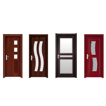 China Folding pvc door partition pvc exterior door bathroom pvc ...