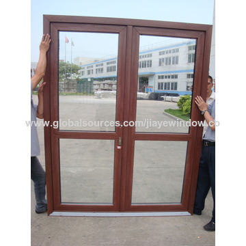 Marvelous ... China Thermal Insulation PVC Plastic French Casement Glass Door ...