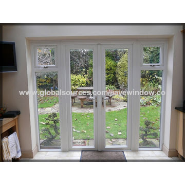 ... China Thermal Insulation PVC Plastic French Casement Glass Door ...