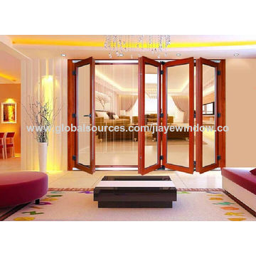 China Aluminium Folding Door with Multi-Leaf Door on Global Sources